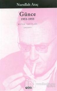 Günce 1953-1955 1956-1957 2 Kitap Takım