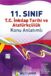 Güvender 11.Sınıf TC. İnkılap Tarihi ve Atatürkçülük Konu Anlatımlı