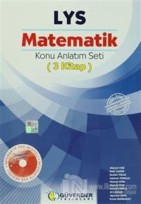 Güvender - LYS Matematik Konu Anlatım Seti ( 3 Kitap )