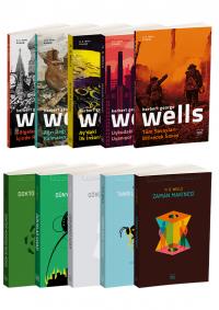 H. G. Wells 10 Kitap Takım