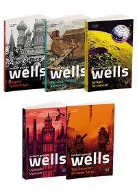 H. G. Wells 5 Kitap Takım