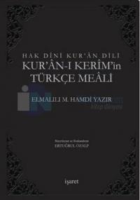 Hak Dini Kur'an Dili Kur'an-ı Kerim'in Türkçe Meali (Cep Boy) %20 indi