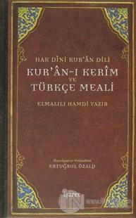 Hak Dini Kur'an Dili Kur'an-ı Kerim ve Türkçe Meali (Ciltli)