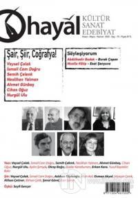 Hayal Kültür Sanat Edebiyat Dergisi Sayı: 73 Nisan-Mayıs-Haziran 2020