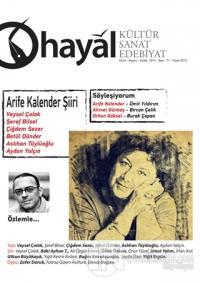 Hayal Kültür Sanat Edebiyat Dergisi Sayı: 71 Ekim-Kasım-Aralık 2019