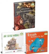 Hayvanları Seviyorum Seti - Organik Kitap (3 Kitap Takım) (Ciltli)