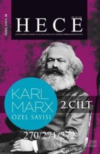 Hece Aylık Edebiyat Dergisi Karl Marx Özel Sayısı:  38 - 270/271/272 Cilt 2