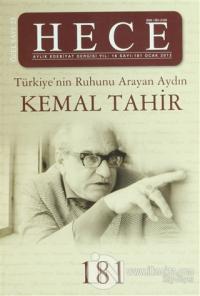 Hece Aylık Edebiyat Dergisi Kemal Tahir Özel Sayısı: 181 (Ciltsiz)