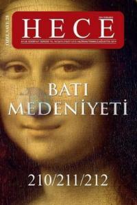 Hece Aylık Edebiyat Dergisi Sayı:210- 211- 212 Haziran-Temmuz- Ağustos 2014 / Özel Sayı:28 Batı Med