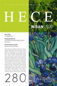 Hece Aylık Edebiyat Dergisi Sayı: 280 Nisan 2020