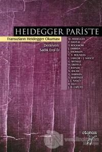 Heidegger Paris'te %25 indirimli Françoise Dastur