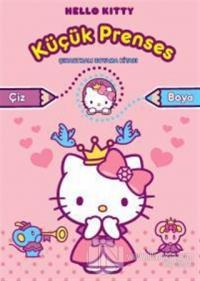 Hello Kitty Küçük Prenses - Çıkartmalı Boyama