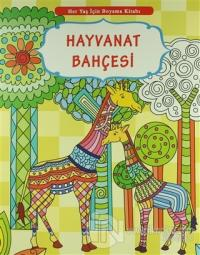 Her Yaş İçin Boyama Kitabı - Hayvanat Bahçesi