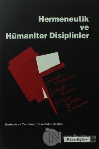 Hermeneutik ve Hümaniter Disiplinler