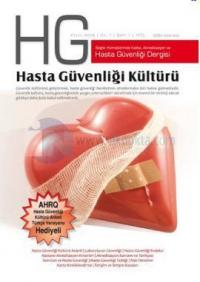 HG Hasta Güvenliği Dergisi Sayı: 1 %15 indirimli Kolektif