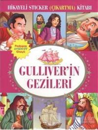 Hikayeli Sticker (Çıkartma) Kitabı - Gulliver'in Gezileri