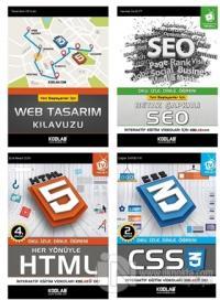 Hızlı ve Kolay Web Tasarım Seti 2 (4 Kitap Takım)
