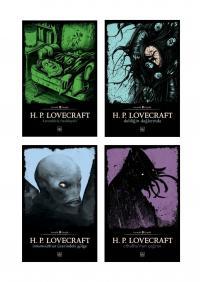 Howard Phillips Lovecraft 4 Kitap Takım