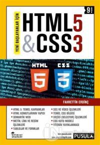 HTML5 ve CSS3 %15 indirimli Fahrettin Erdinç