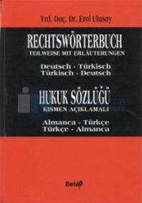 Hukuk Sözlüğü - Rechtswörterbuch