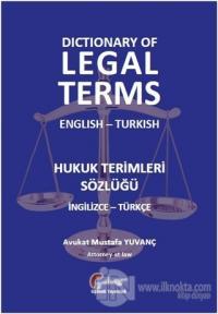 Hukuk Terimleri Sözlüğü (İngilizce-Türkçe) (Ciltli) %15 indirimli Must