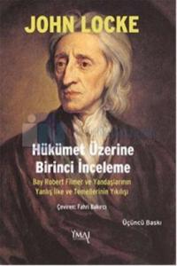 Hükümet Üzerine Birinci İnceleme %5 indirimli John Locke