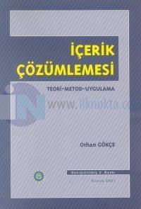 İçerik ÇözümlemesiTeori-Metod-Uygulama