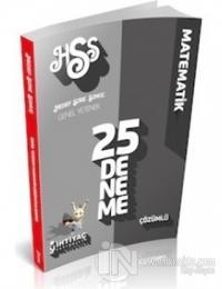 İhtiyaç KPSS 2014 Matematik Çözümlü 25 Deneme Sınavı
