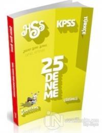 İhtiyaç KPSS 2014 Türkçe Çözümlü 25 Deneme Sınavı