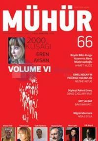 İki Aylık Şiir ve Edebiyat Dergisi Eylül - Ekim 2016 - Mühür Sayı: 66