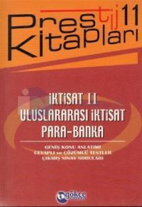İktisat 2 - Uluslararası İktisat - Para - Banka - Prestij Kitapları 11