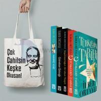 İlber Ortaylı Seti 5 Kitap Takım - Çok Cahilsin Keşke Okusan Çanta Hediyeli