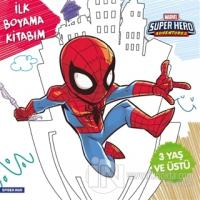 İlk Boyama Kitabım Spider-Man - Marvel Super Hero Adventures