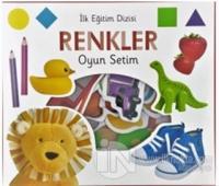 İlk Eğitim Dizisi - Renkler Oyun Setim