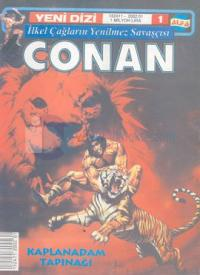 İlkel Çağların Yenilmez Savaşçısı ConanSayı: 1Kaplanadam Tapınağı