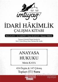 İmtiyaz İdari Hakimlik Çalışma Kitabı - Anayasa Hukuku