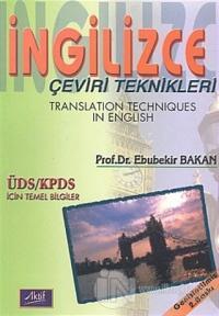 İngilizce Çeviri Teknikleri Translation Techniques in English