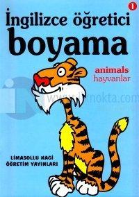 İngilizce Öğretici Boyama 1 Animals Hayvanlar