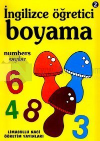 İngilizce Öğretici Boyama 2 Numbers Sayılar