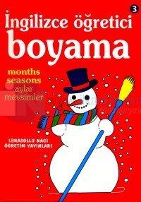 Ingilizce Ogretici Boyama 3 Months Seasons Aylar Mevsimler Arama