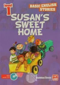 İngilizce Öyküler Level 1 Susan's Sweet Home (5 Stories In This Book)
