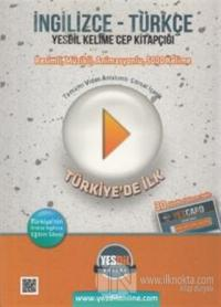 İngilizce - Türkçe Yesdil Kelime Cep Kitapçığı (30 Gün Online Eğitim P