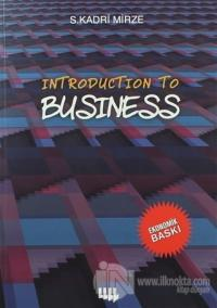 Introduction To Business (Siyah Beyaz Ekonomik Baskı)