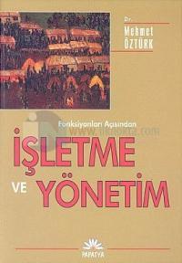 İşletme ve Yönetim Mehmet Öztürk