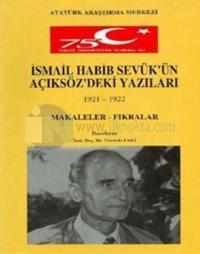 İsmail Habib Sevük'ün Açıksöz'deki Yazıları
