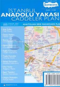 İstanbul Anadolu Yakası Caddeler Planı