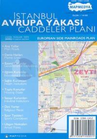İstanbul Avrupa Yakası Caddeler Planı