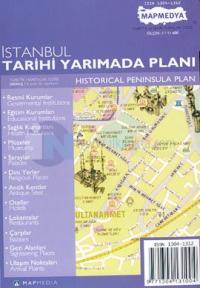 İstanbul Tarihi Yarımada Planı Historical Peninsula Plan