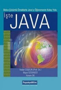 İşte Java - Bolca Çözümlü Örneklerle Java'yı Öğrenmenin Kolay Yolu