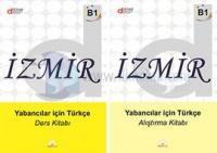 İzmir Yabancılar İçin Türkçe B1 - Ders Kitabı - Alıştırma Kitabı 2 Kitap Takım